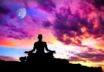 meditate-meditation-sunset