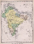 india 1760 ancient map