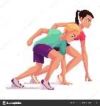 runners-sprinters