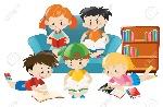 66895335-children-reading-books-in-the-room-illustration-Stock-Photo