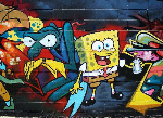 Graffiti-SepongeBob