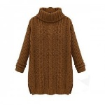 A1-Womens_Vintage_Long_Sweater_Cable_Knit_Ribbed_Turtleneck_Solid_Color_1