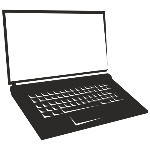 a703021fba3c4bd025f4324c31095d8a-blank-screen-notebook-laptop-silhouette