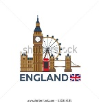 stock-vector-travel-to-england-london-skyline-big-ben-vector-illustration-521657185