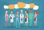 comunicación-intermedia-team-clinics-hospital-de-los-doctores-chat-bubble-social-network-del-grupo-86279926
