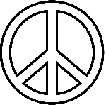 Peace sign coggle mind map Antarctica LC Topic 2