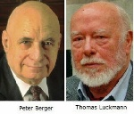 Peter L. Berger y Thomas Luckmann