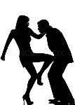14305369-one-couple-man-and-woman-self-defense-violence-silhouette