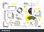 stock-vector-universal-trend-halftone-geometric-shapes-set-juxtaposed-with-bright-bold-yellow-elements-1044434557