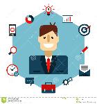business-management-flat-illustration-man-icons-53753961