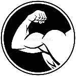 strong-arm-symbol-vector-illustration-72949172
