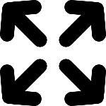 quatro-setas-simbolo-interface-para-maximizar-o-tamanho_318-60514