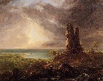 Cole_Thomas_Romantic_Landscape_with_Ruined_Tower_1832-36