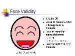 Face+Validity+It+looks+OK