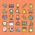depositphotos_80860976-stock-illustration-education-flat-line-icons-set
