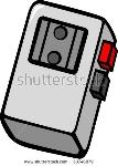 stock-vector-portable-audio-cassette-recorder-38746879