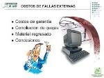 fallas externas
