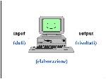 input+(dati)+output+(risultati)+(elaborazione)