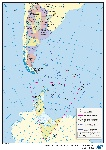 Mapa oficial de Argentina