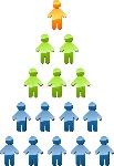 ilustración-de-la-pirámide-de-gerencia-de-la-jerarquía-20723764