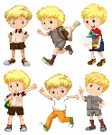 boy-with-blond-hair-in-different-actions-illustration_1308-2622