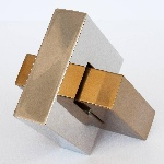 Chrome_Brass_Interlocking_Abstract_Geometric_Link_Sculpture_3_master