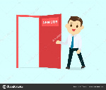 depositphotos_155334414-stock-illustration-employee-walk-and-open-red