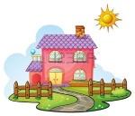 16319646-ilustración-de-una-casa-en-una-hermosa-naturaleza