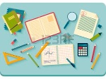 30171106-concept-of-high-school-object-and-college-education-items-with-studying-and-educational-elements-