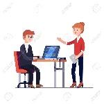 67654592-mujer-director-del-proyecto-con-el-ordenador-tableta-hablar-con-un-código-escrito-hombre-programador-en