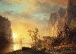 sunset-in-the-rockies-albert-bierstadt
