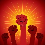 depositphotos_26485489-stock-illustration-fists-up-background
