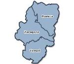 Mapa Aragón.
