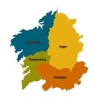Mapa Galicia.