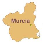 Mapa Murcia.