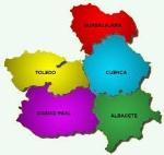 Mapa, Castilla Mancha.