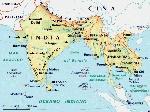 india cartina