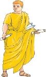 roman clothing english