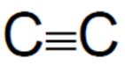 c triple bond
