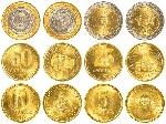 58598941-peso-argentino-en-circulación-monedas-de-colección-aislados-sobre-fondo-blanco