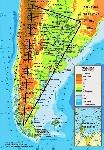 argentina-mapa-fisico GEOGRAFIA ARGENTINA PROFESOR FAUSTTO gUERRERO