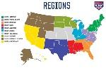 USASoftball_10RegionMap