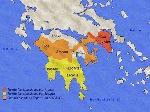 mapa de esparta grecia