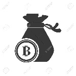 61384013-bitcoin-money-bag-financial-commerce-icon-flat-and-isolated-design-vector-illustration