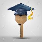 59422669-educación-símbolo-de-la-tecla-que-representa-el-éxito-del-aprendizaje-o-de-graduarse-metáfora-del-estudiante-