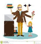 busy-multitasking-man-father-dad-daddy-romantic-husband-businessman-worker-young-man-son-working-calling-doing-e-exercise-85193181