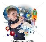 ciencia-explorar-niño-aprendizaje-almacen-de-fotos_csp11709039
