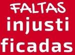 FALTAS INJUSTIF