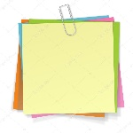depositphotos_87476116-stock-illustration-notes-with-paper-clip