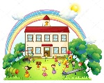 depositphotos_27920301-stock-illustration-children-playing-in-front-of